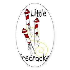 Little Firecracker Decal