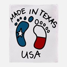 Made In Texas Throw Blanket
