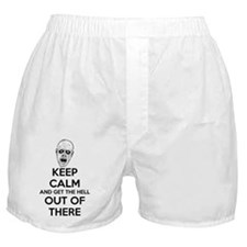Keep Calm Zombies Boxer Shorts