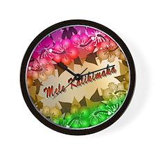 meleflowers218 Wall Clock