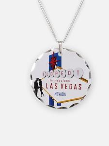 Eloped in Las Vegas Necklace