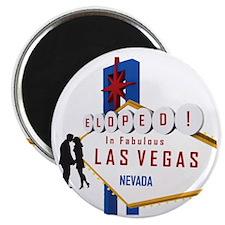 Eloped in Las Vegas Magnet
