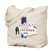Eloped in Las Vegas Tote Bag