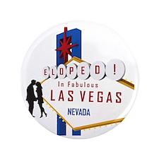 "Eloped in Las Vegas 3.5"" Button"