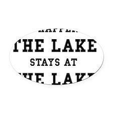 Happens At Lake Oval Car Magnet