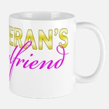Navy Vet Girlfriend Gold Mug