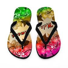 meleflowers2-20hback Flip Flops