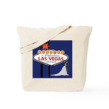 Wedding In Las Vegas Tote Bag