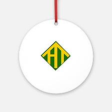 Hike Alabama Logo Round Ornament