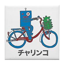 Japanese Bike Robot - Charinko Tile Coaster