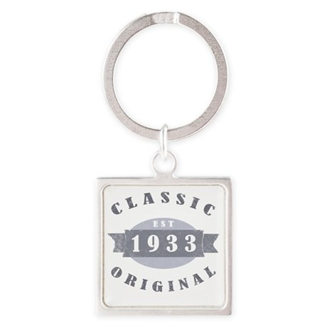 1933 Classic Original Square Keychain