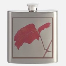 Red Grape Leaf Flask