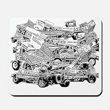 John Lund Collage Mousepad