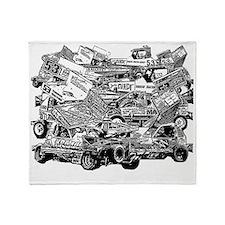 John Lund Collage Throw Blanket