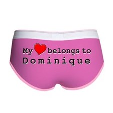 My Heart Belongs To Dominique Women's Boy Brief
