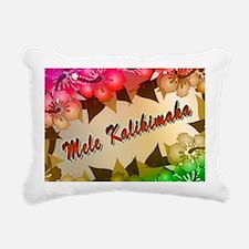mele-yard-back Rectangular Canvas Pillow