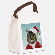 Santa Claws Canvas Lunch Bag