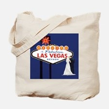 Wedding In Las Vegas Tote Bag