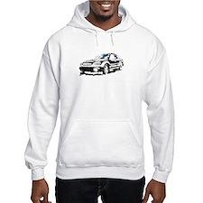Black Subaru Baja Hoodie