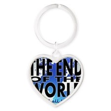 End of the world Heart Keychain