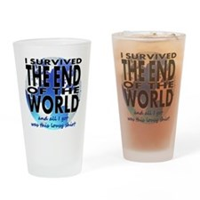 End of the world Drinking Glass