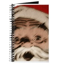 Santa Face Sketch Peek Journal