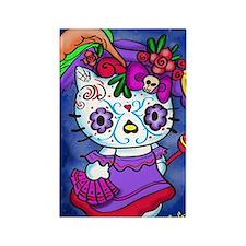 Katrina Kitty Rectangle Magnet