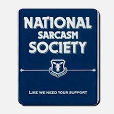 National _ sarcasm _ Society Mousepad
