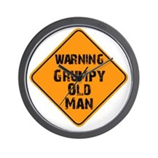 the _ grumpy _ old _ man Wall Clock