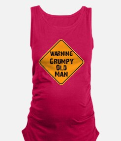 the _ grumpy _ old _ man Maternity Tank Top