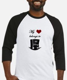 Mr. Darcy Heart Baseball Jersey