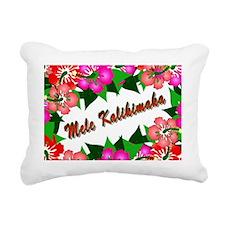 mele-pillow Rectangular Canvas Pillow
