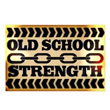 Old School Strength Postcards (Package of 8)