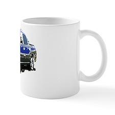 Blue Subaru Baja Mug