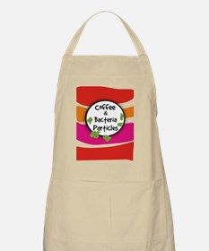 Coffee and Bacteria Particles Apron