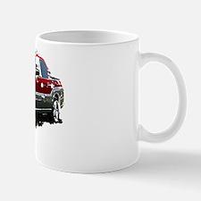 Red Subaru Baja Mug