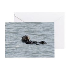 MP_Otter_9 Greeting Card