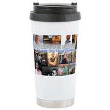 Microphone Machos Stainless Steel Travel Mug