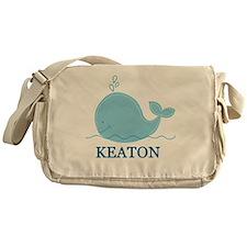 Little Whale Blanket - Keaton Messenger Bag