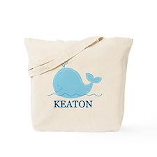 Little Whale Blanket - Keaton Tote Bag
