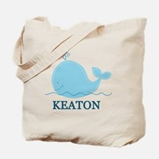 Little Whale Blanket - Keaton Tote Bag