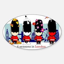 londonguards Sticker (Oval)