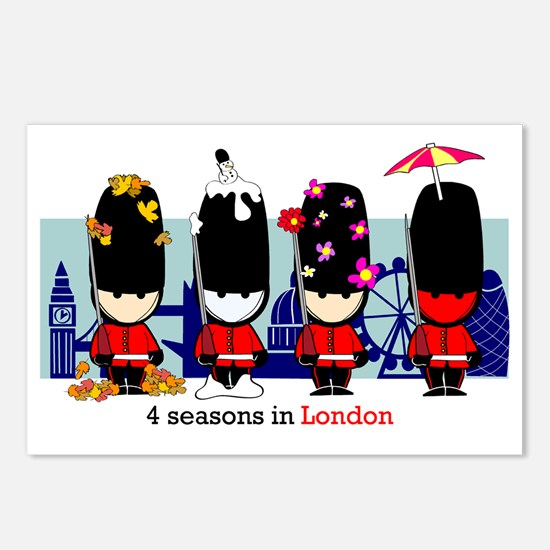 londonguards Postcards (Package of 8)