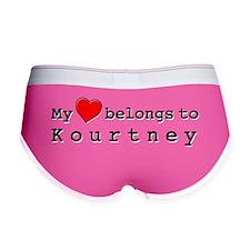 My Heart Belongs To Kourtney Women's Boy Brief