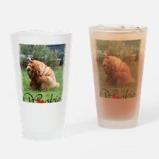 I love Wookie the Chow Drinking Glass