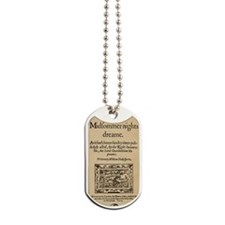 Midsummer Nights Dream Dog Tags