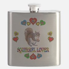 Squirrel Lover Flask