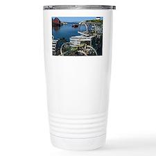 Bar Harbor Maine- sq.  Travel Coffee Mug