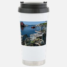 Bar Harbor Maine- sq.  Travel Mug