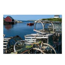 Bar Harbor Maine- sq.  Postcards (Package of 8)